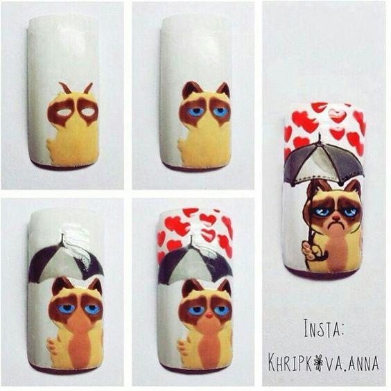 Дизайн ногтей пошаговая инструкция
