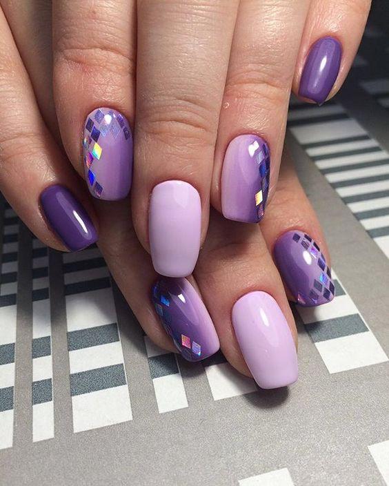 весенний маникюр 2017 на коротких ногтях