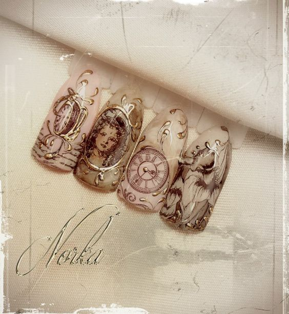 клевый дизайн ногтей фото