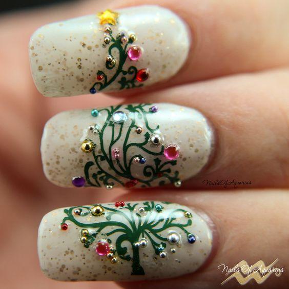 Милый весенний дизайн ногтей