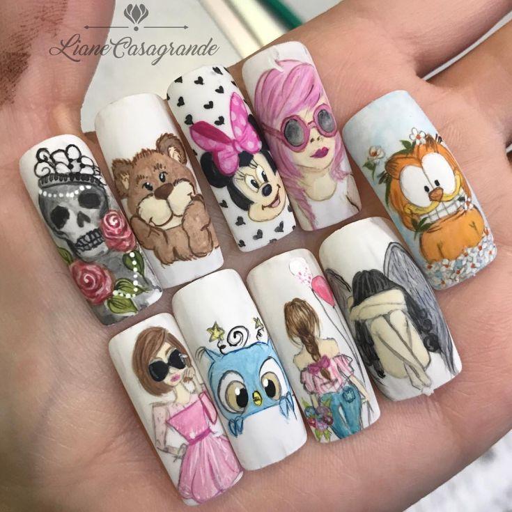 Какие есть ногти фото