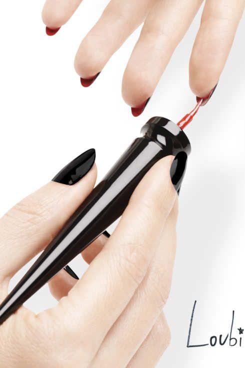 The new christian louboutin nail
