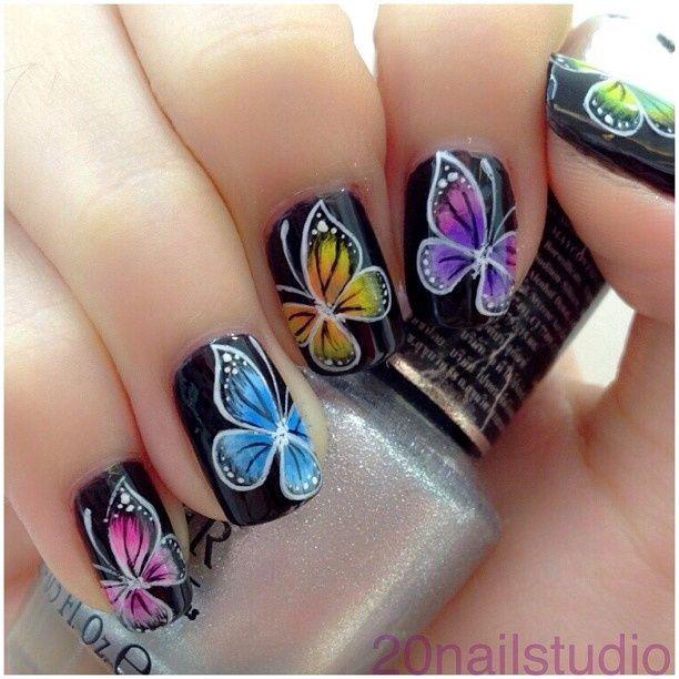 Красивый маникюр на короткие ногти : фото идеи