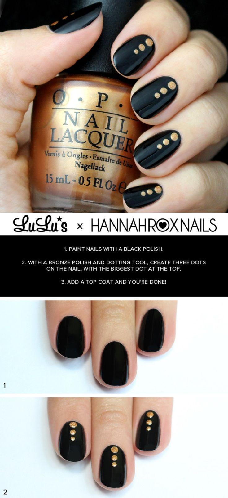 Как сделать дотс для ногтей своими руками