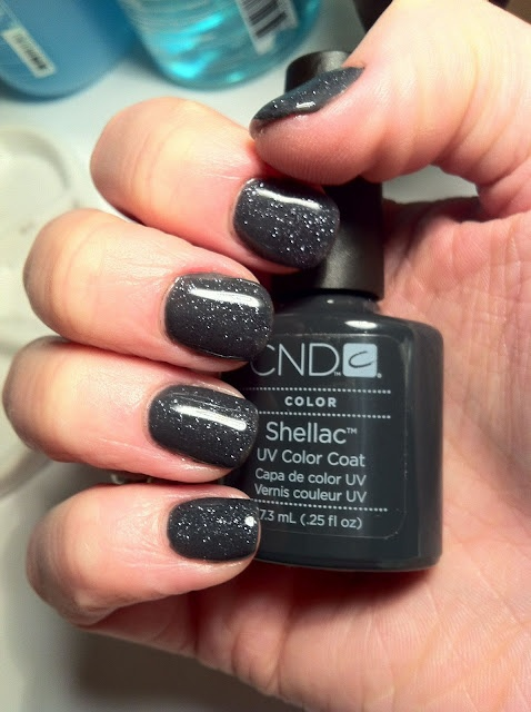 shellac cnd фото на ногтях