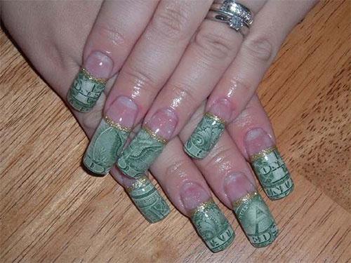дизайн акриловых ногтей 2015 баксы