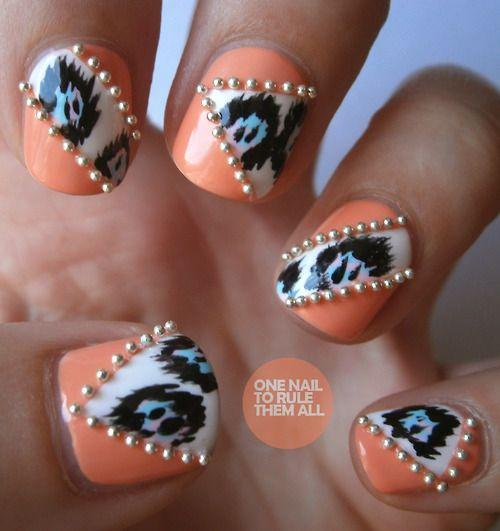 дизайн ногтей бульонки шарики кошачьи лапки Nail Design bulbs