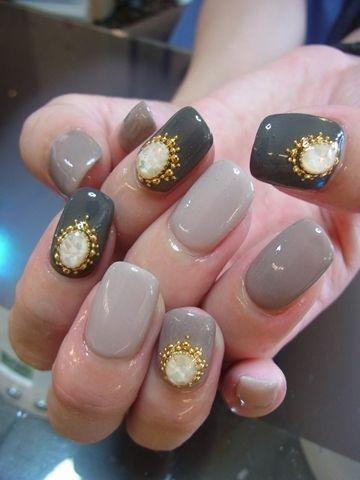 дизайн ногтей жидкий камень белый мрамор