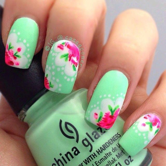 Осенний дизайн на ногтях пошаговое