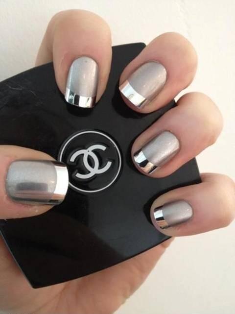 Ногти дизайн строгие