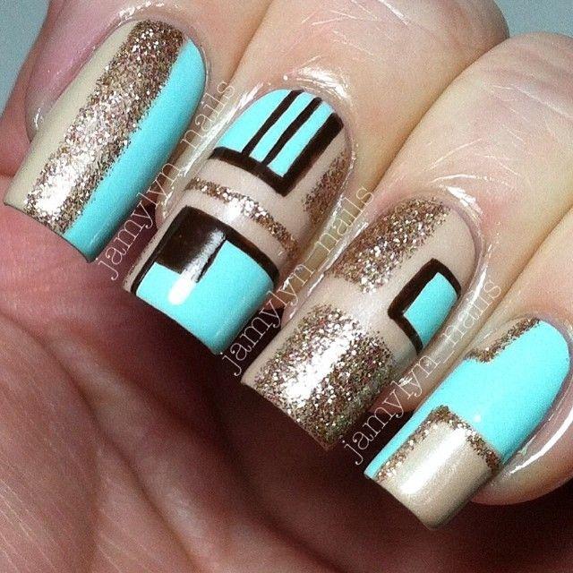 Ногти квадрат дизайн