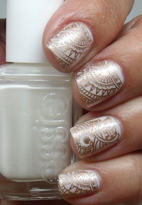 дизайн квадратных ногтей роспись