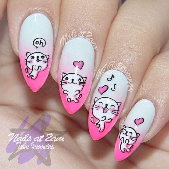 Рисунок дизайн ногтей