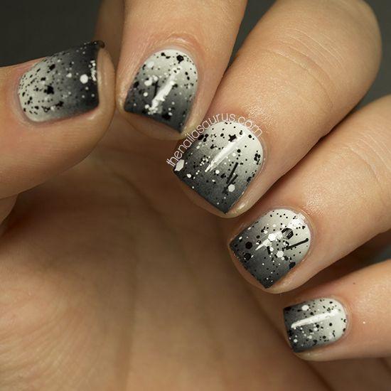 Маникюр гель лак короткие ногти фото