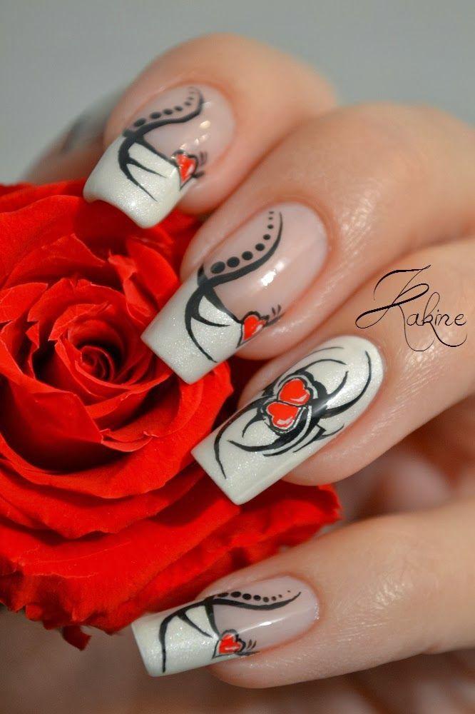 Морской дизайн на ногтях фото