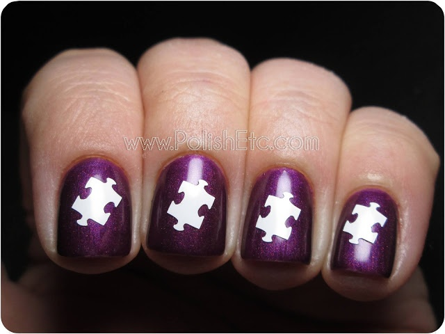 manicure puzzle маникюр пазлы