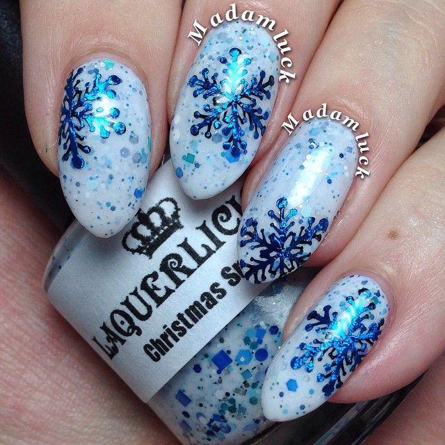 manicure-snowflakes-1.jpg (640×640)