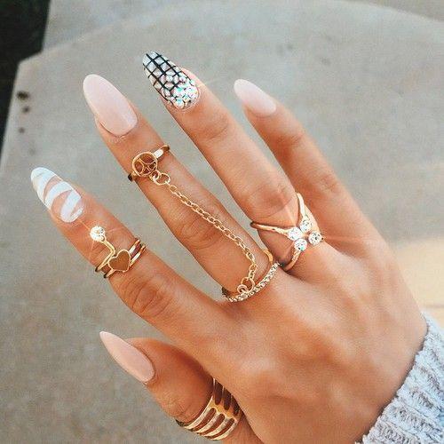 Дизайн на безымянном пальце