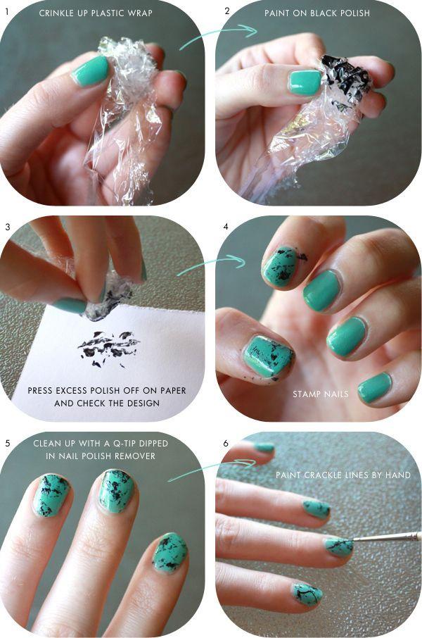 Пошаговые дизайны ногтей