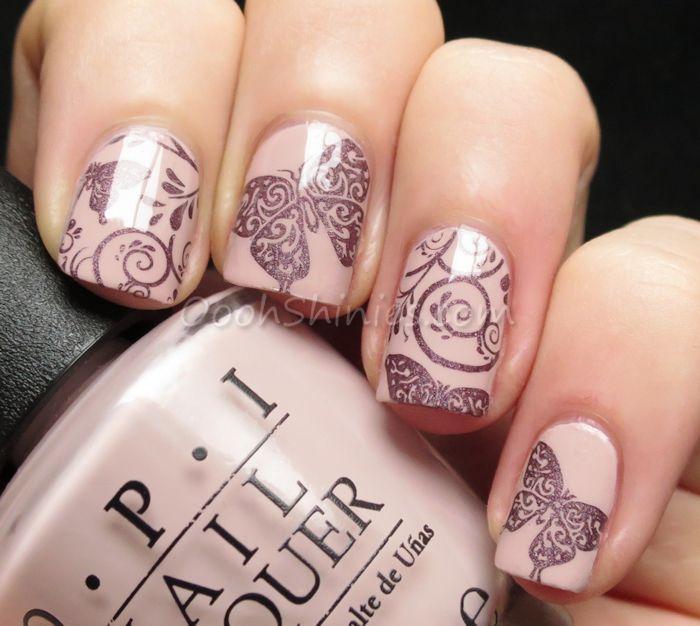 Дизайн ногтей лаком пошаговое фото