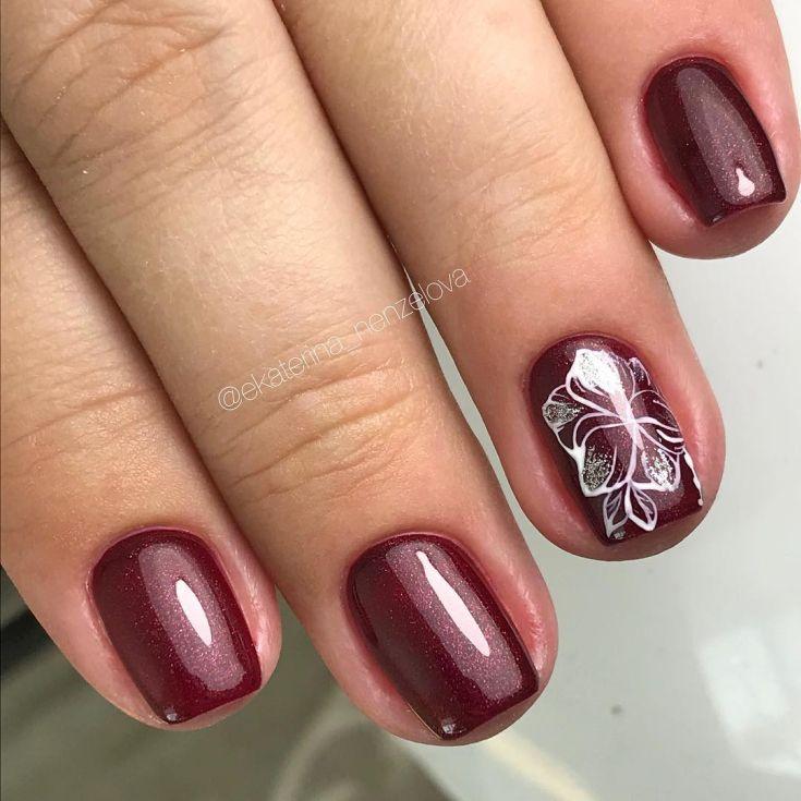 гель-лак на коротких ногтях фото дизайн