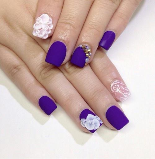 Ногти квадратные короткие дизайн