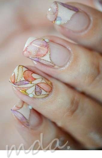 stained glass <i>витражные лаки для ногтей что это фото</i> manicure витражный дизайн ногтей