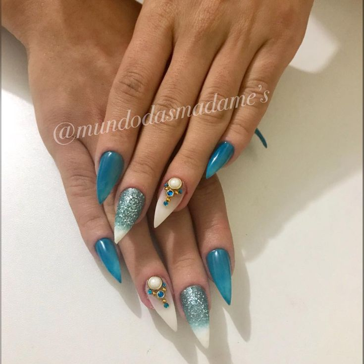 Дизайн ногтей стилет 2018