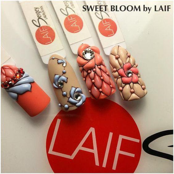 Дизайн ногтей sweet bloom