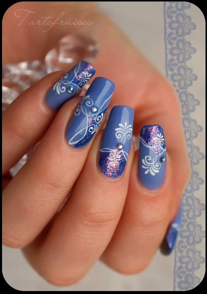 Дизайн для средних ногтей фото