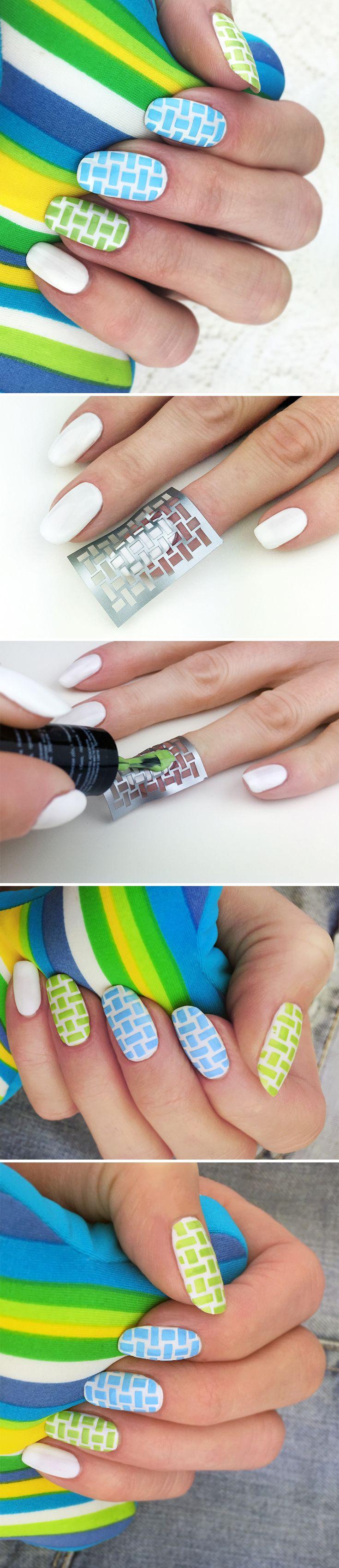 креативные современные идеи для дизайна ногтей 2016
