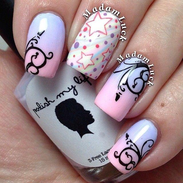 Дизайн ногтей необычные