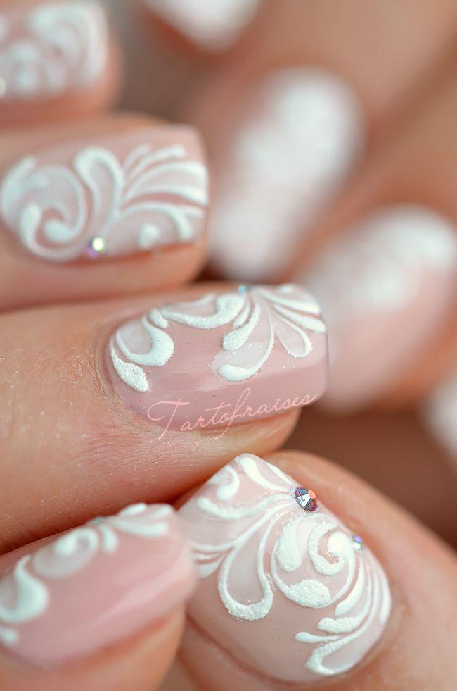Бархатный песок для ногтей дизайн на короткие ногти 65