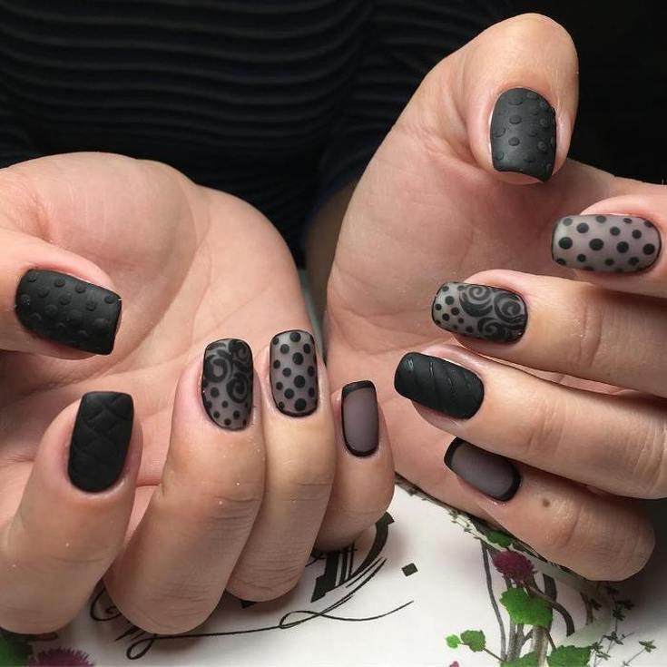 298 фото дизайн ногтей точками в горошек с помощью дотса