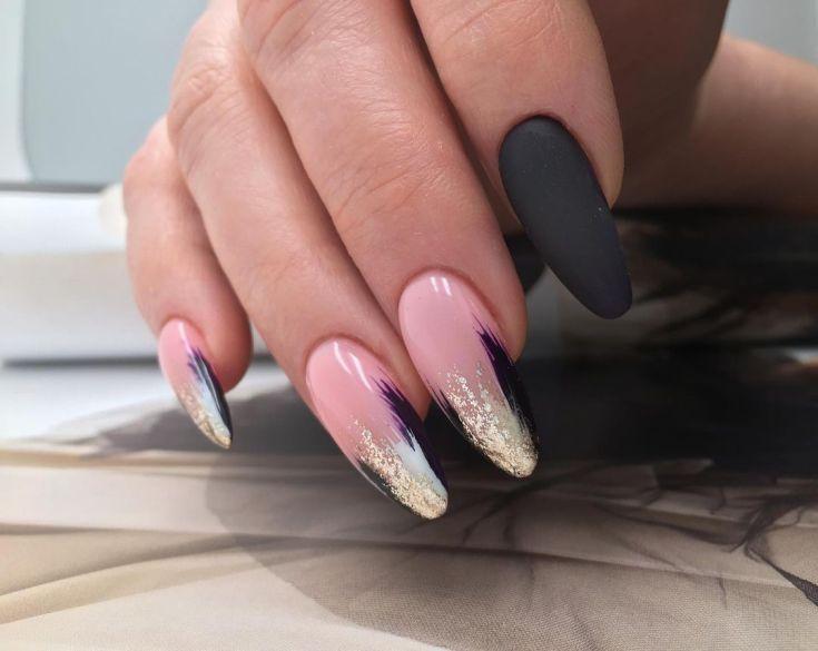 Дизайн длинных ногтей на лето