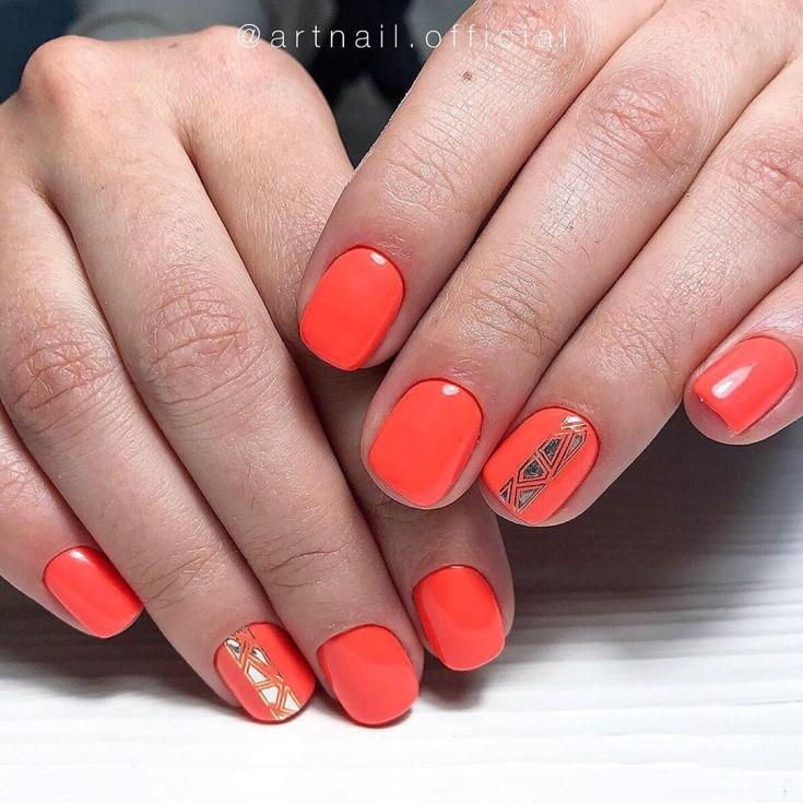 2021 Дизайн ногтей шеллак фото новинки