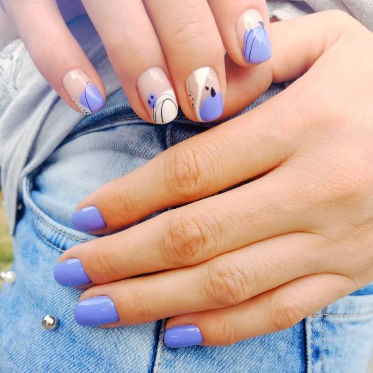 33 ярких фото новинок дизайна ногтей