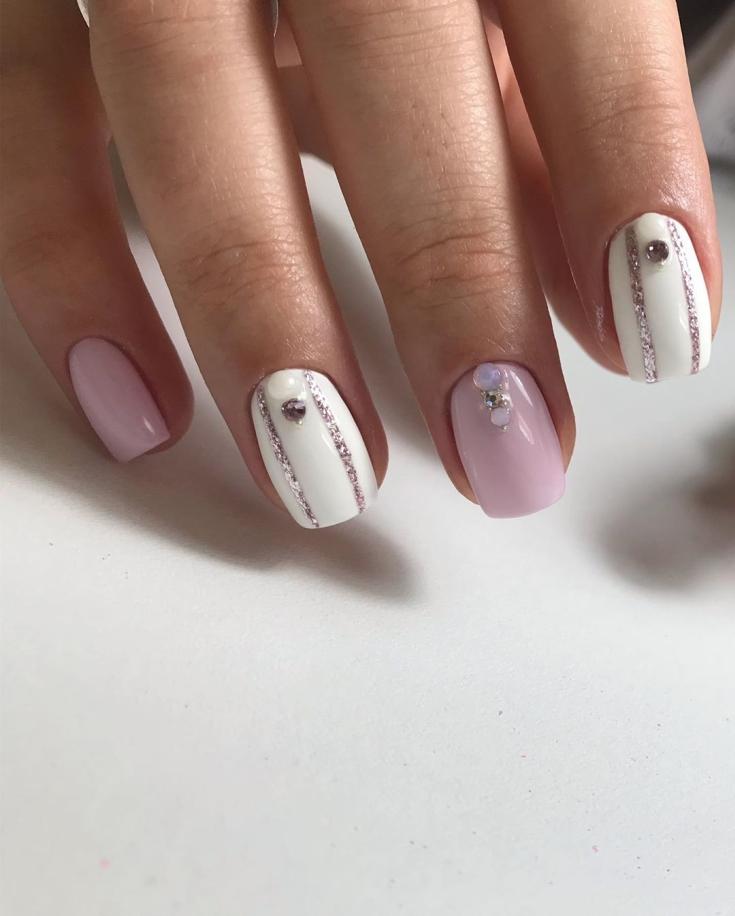 Дизайн ногтей Шеллак Shellac на короткие ногти