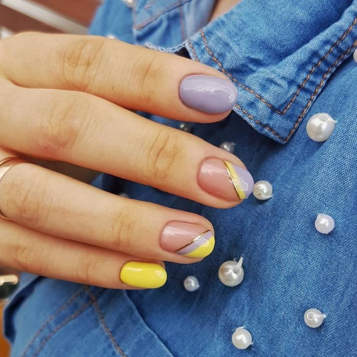 Маникюр осень 2019 модные тенденции