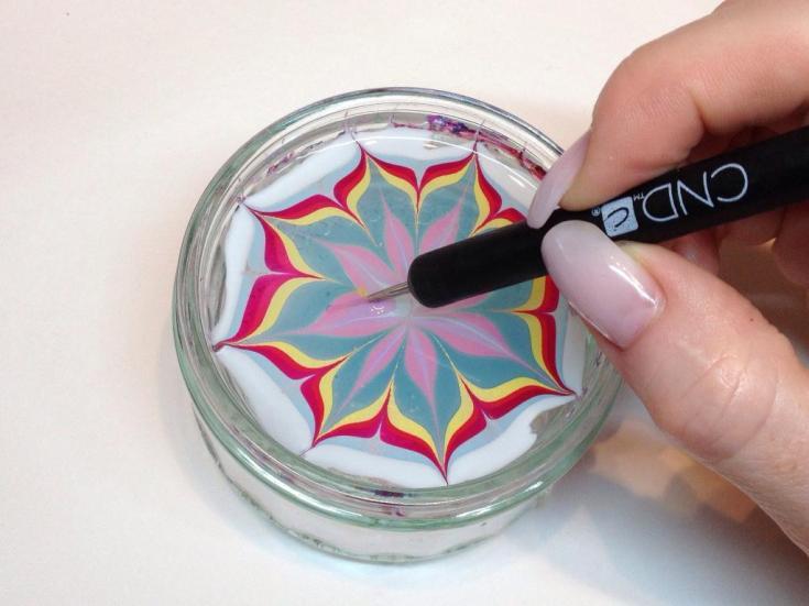 Дизайн ногтей пищевой пленкой