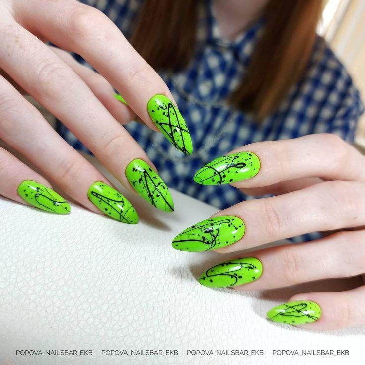 Дизайны ногтей гель лаками лето