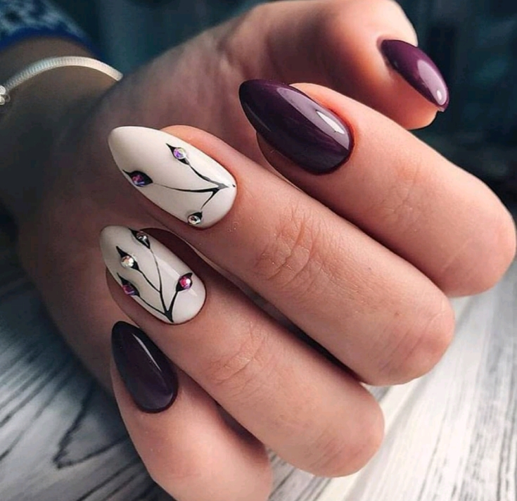 Идеи быстрого дизайна ногтей