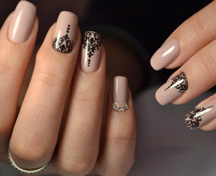 Самый популярный дизайн ногтей