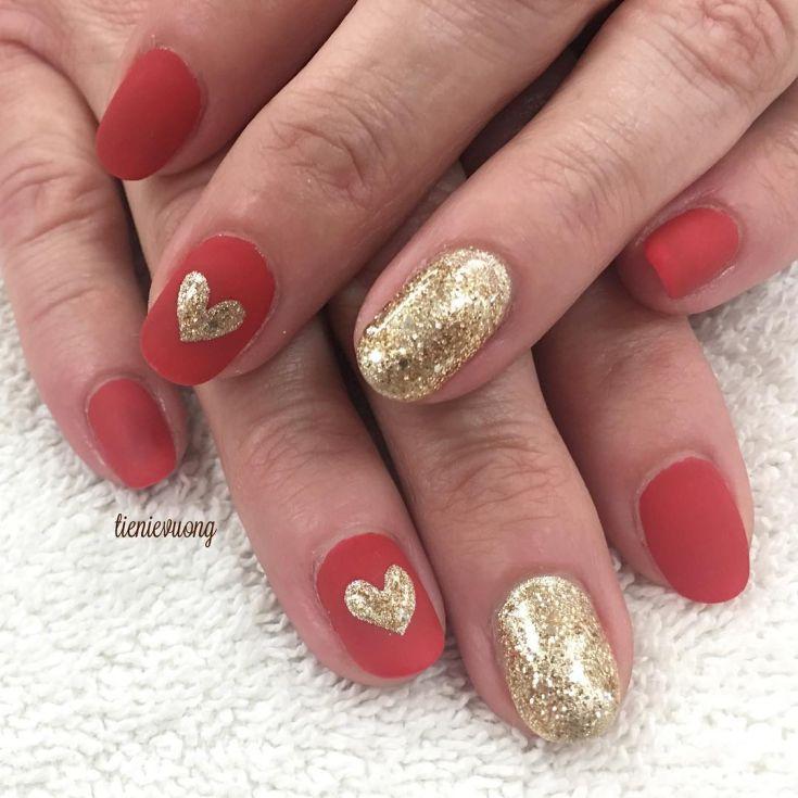 Легкие дизайны на ногтях блестками видео