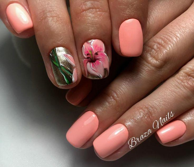 хорьки картинки ногтей с лилиями друзьями