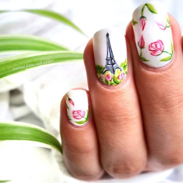 дизайн ногтей картинки парижа сомнений