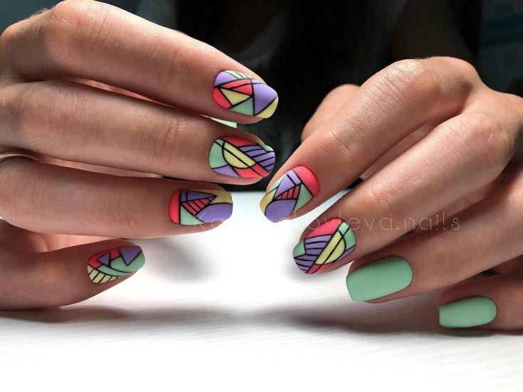 Ногти Дизайн Фото 2019 Френчи