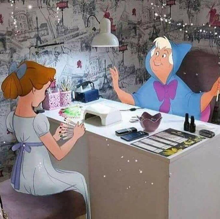 нас смешные картинки о маникюре дома можно